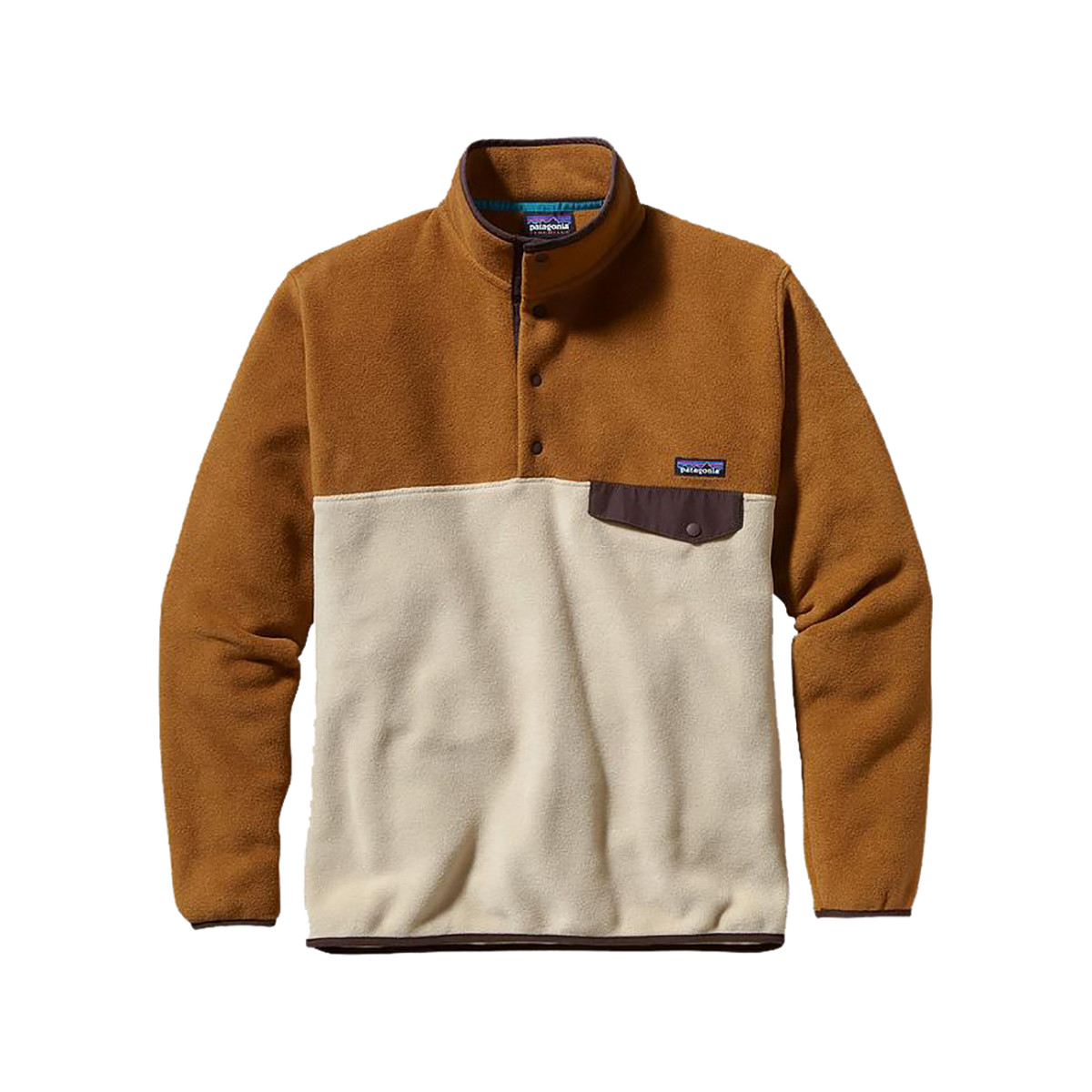 photo: Patagonia Lightweight Synchilla Snap-T Pullover fleece jacket