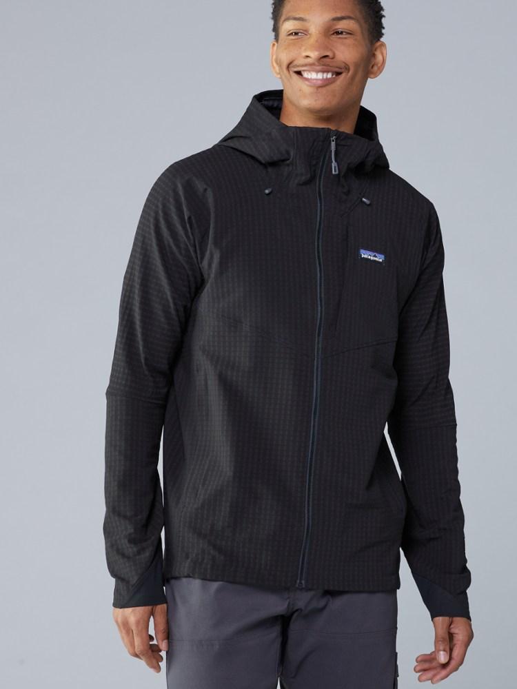 photo: Patagonia Men's R1 TechFace Hoody fleece jacket