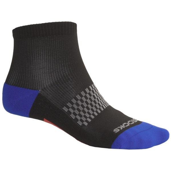photo: Brooks Infiniti Socks - Below-the-Ankle running sock