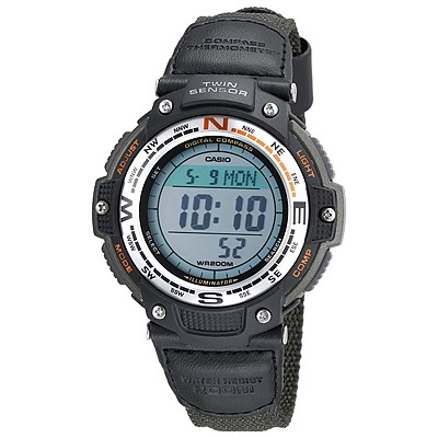 photo: Casio SGW100B-3V compass watch