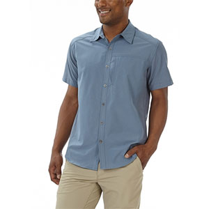 photo: Royal Robbins Diablo Short Sleeve Shirt hiking shirt