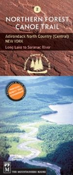 The Mountaineers Books Northern Forest Canoe Trail Map #2 - Adirondack North Country (Central) New York