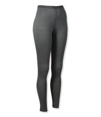 L.L.Bean Cresta Wool Base Layer, Pants Lightweight