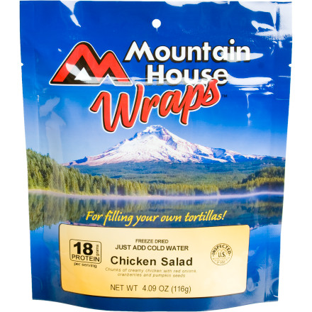 Mountain House Chicken Salad Wraps