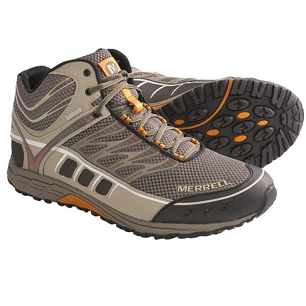 photo: Merrell Mix Master Mid Waterproof trail shoe
