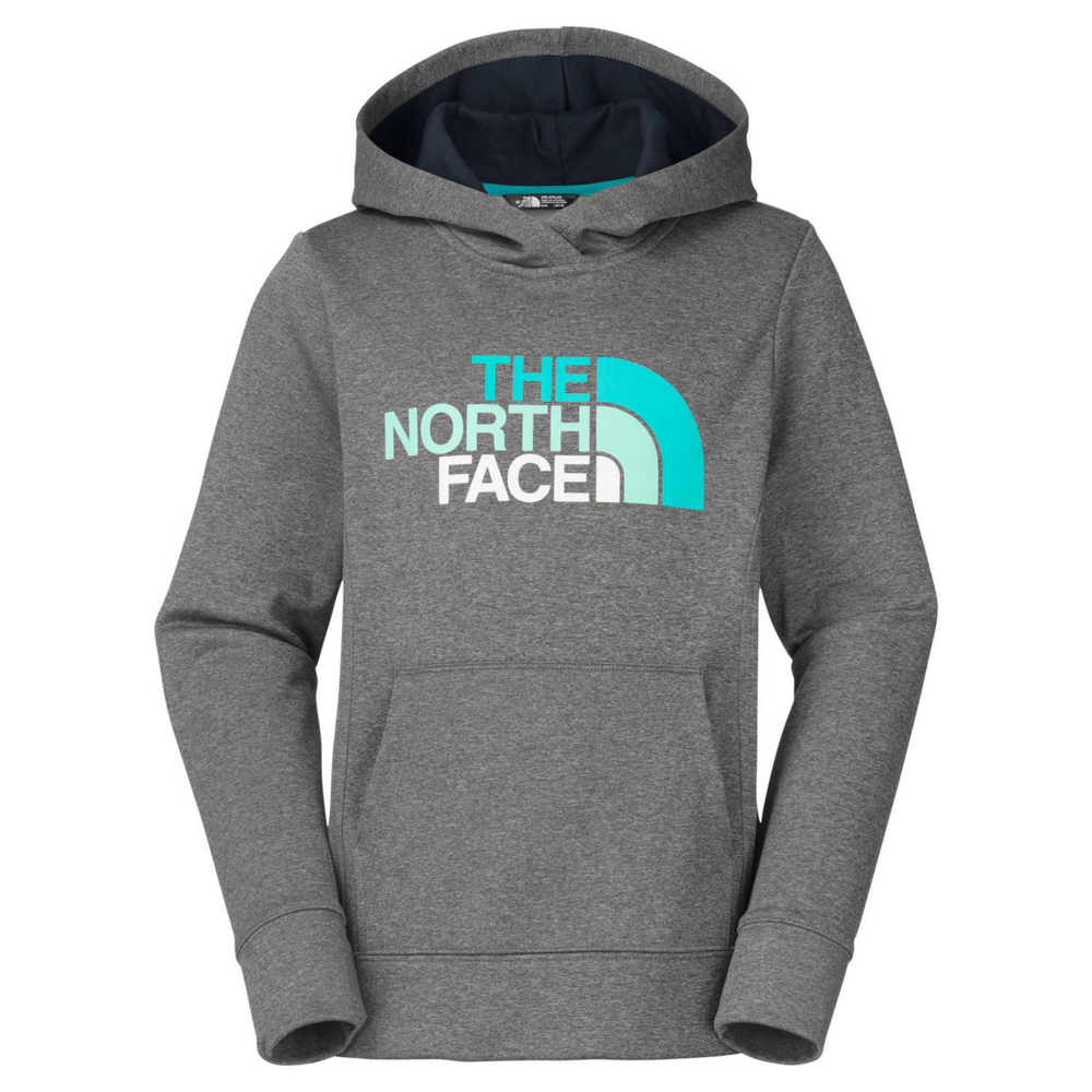 photo: The North Face Girls' Surgent Hoodie fleece top