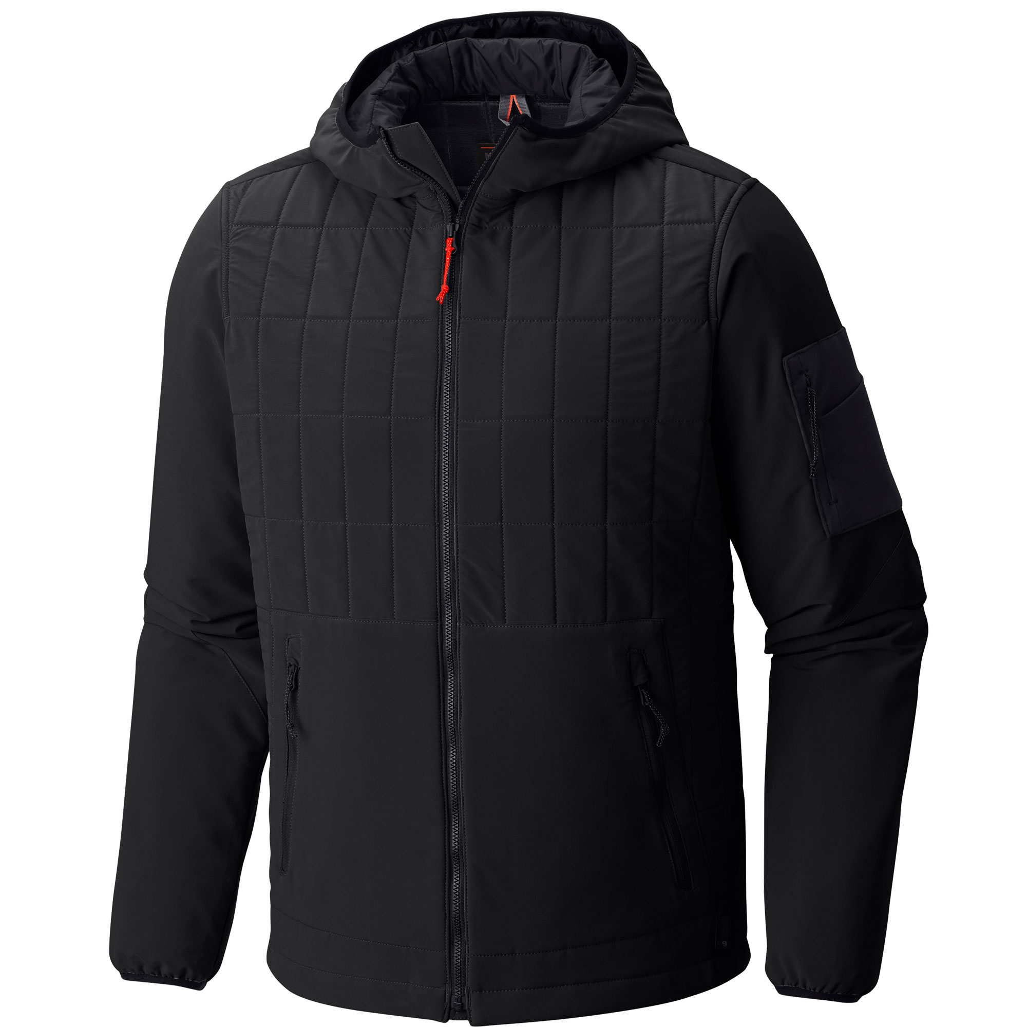 photo: Mountain Hardwear Schematic Hooded Jacket soft shell jacket