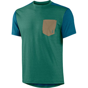 photo: Trew NuYarn Wool Pocket T short sleeve performance top