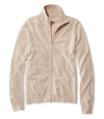 photo: L.L.Bean Classic Cashmere, Full-Zip Cardigan wool jacket