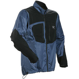 photo: Arc'teryx Hybrid Jacket wind shirt