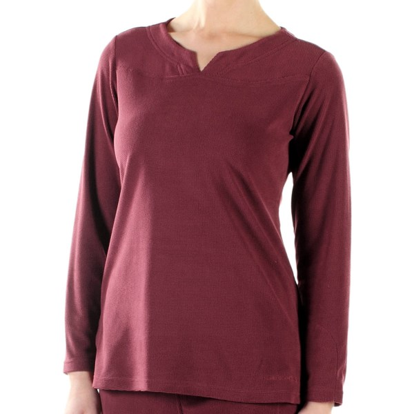ExOfficio Jandiggity Long-Sleeve Fleece Crew Shirt