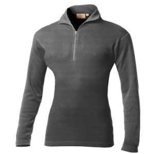 photo: Minus33 Women's 100% Wool Midweight 1/4 Zip base layer top