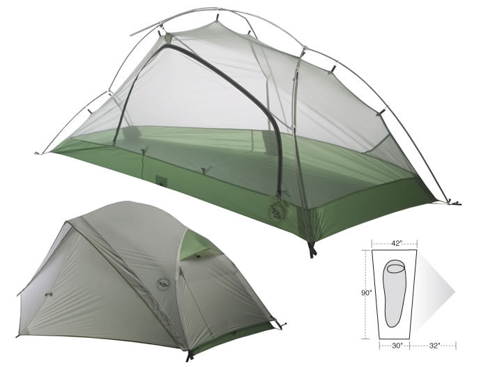 photo: Big Agnes Emerald Mountain SL1 three-season tent