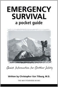 photo: The Mountaineers Books Emergency Survival: A Pocket Guide first aid/safety/survival book