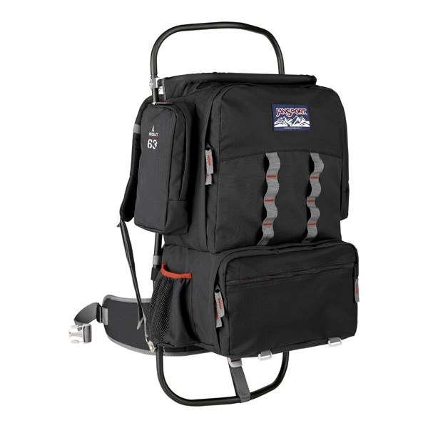 photo: JanSport Scout external frame backpack