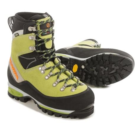 photo: Scarpa Women's Mont Blanc GTX mountaineering boot