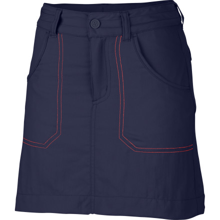 photo: Columbia Girls' Silver Ridge Skort hiking short
