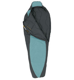 photo: Eureka! Women's Silver City 30ºF 3-season synthetic sleeping bag