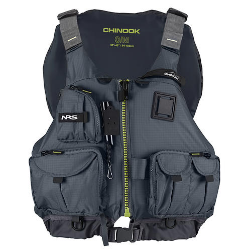 NRS Chinook Fishing Mesh Back PFD