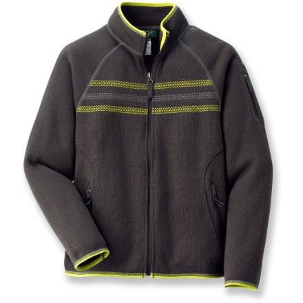 REI Zip Sweater Fleece Jacket