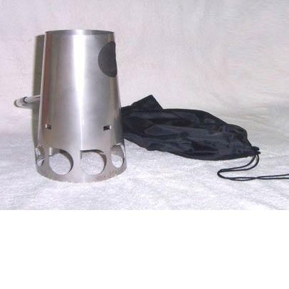 photo: Stratus TrailStove solid fuel stove