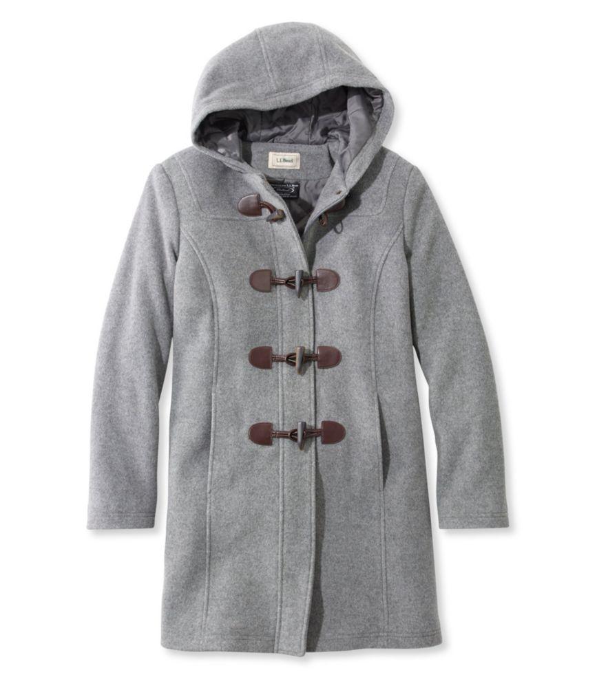 L.L.Bean Classic Lambswool Duffel Coat