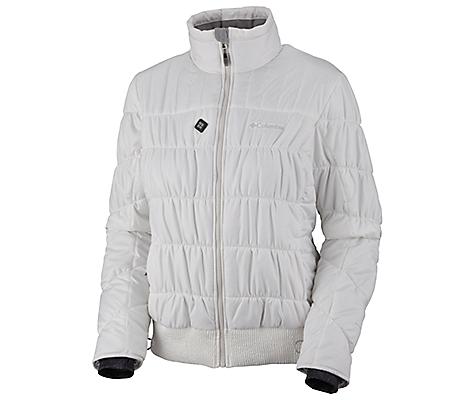 photo: Columbia Women's Electro Amp Jacket synthetic insulated jacket