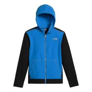photo: The North Face Boys' Glacier Full Zip Hoodie fleece jacket