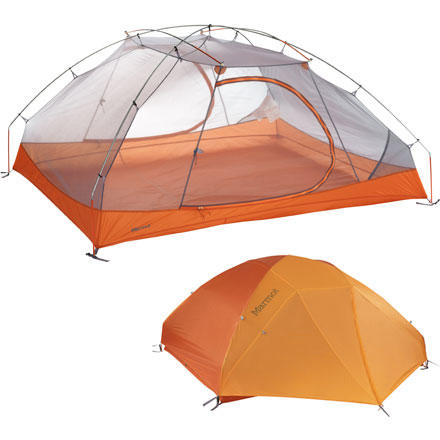 photo: Marmot Aeros 3P three-season tent