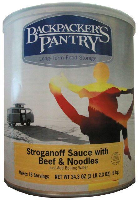 Backpacker's Pantry Beef Stroganoff Complete Dinner