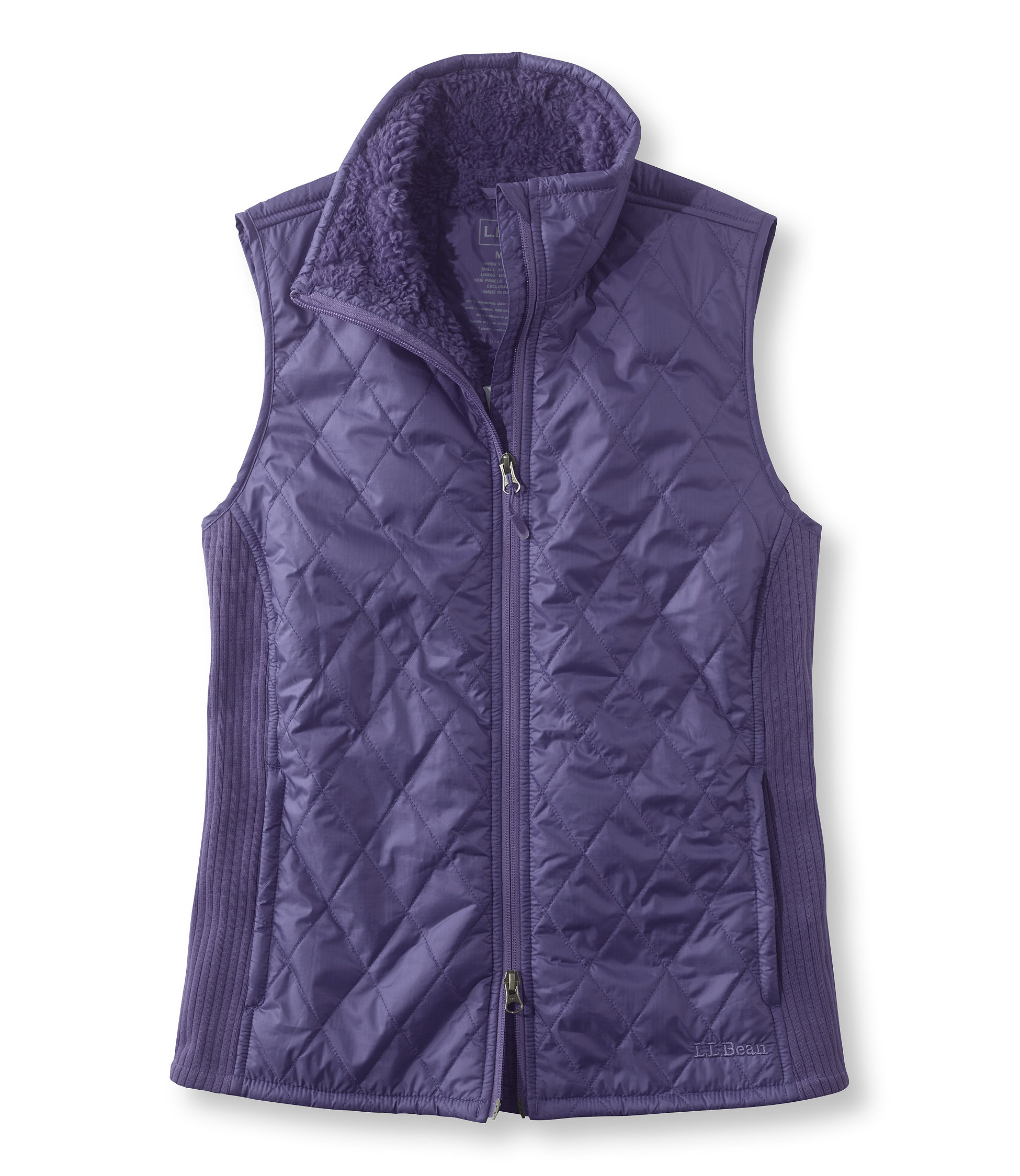 L.L.Bean Fleece-Lined Fitness Vest