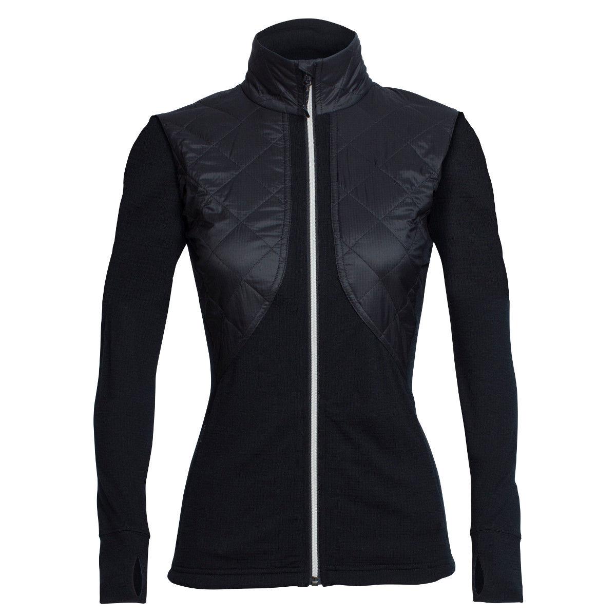 photo: Icebreaker Ellipse Long Sleeve Zip wool jacket