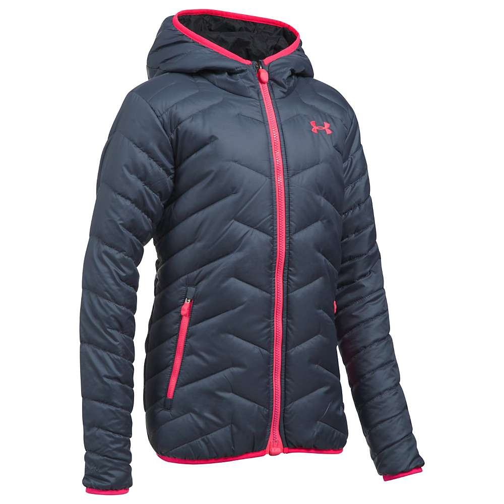 photo: Under Armour Girls' Reactor Hooded synthetic insulated jacket