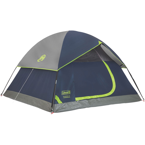 photo: Coleman Sundome 3 three-season tent