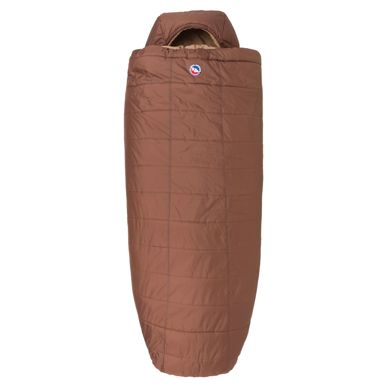 photo: Big Agnes Whiskey Park 0° 3-season synthetic sleeping bag