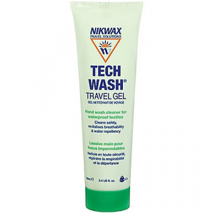 photo: Nikwax Tech Wash Travel Gel fabric cleaner/treatment
