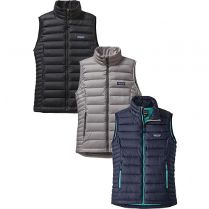 photo: Patagonia Women's Down Sweater Vest down insulated vest