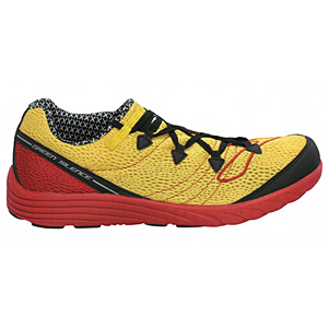 photo: Brooks Green Silence trail running shoe
