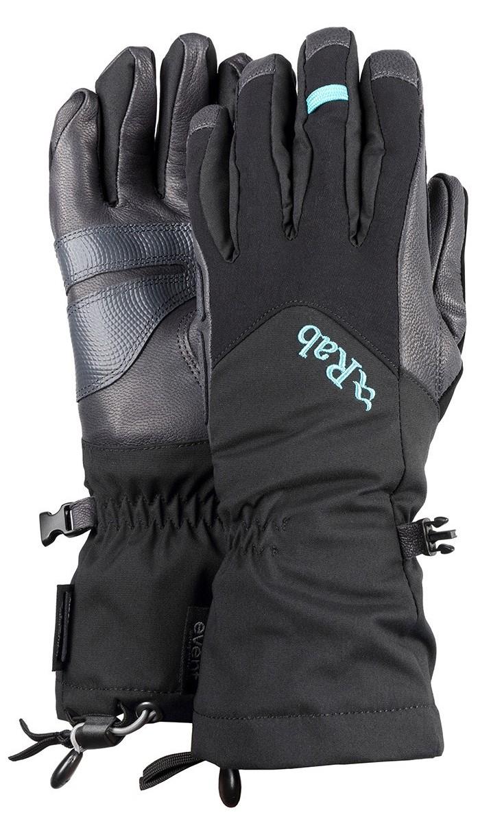 photo: Rab Women's Icefall Gauntlet insulated glove/mitten