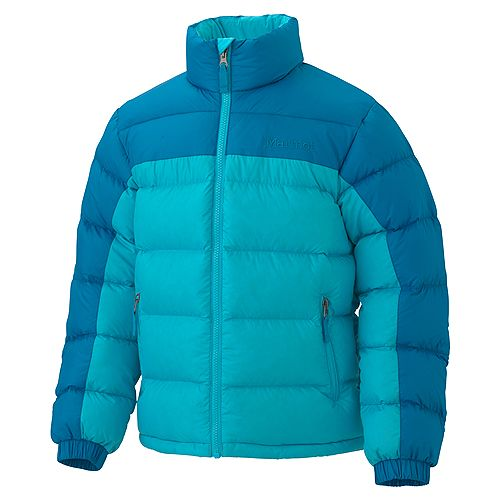 photo: Marmot Girls' Guides Down Sweater down insulated jacket
