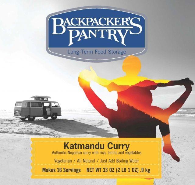 photo: Backpacker's Pantry Katmandu Curry vegetarian entrée
