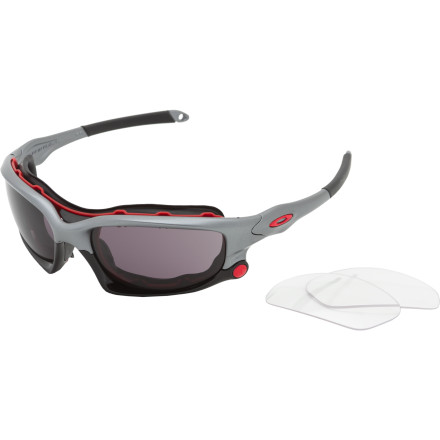 photo: Oakley Wind Jacket Sunglasses sport sunglass