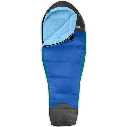 photo: The North Face Women's Blue Kazoo 3-season down sleeping bag