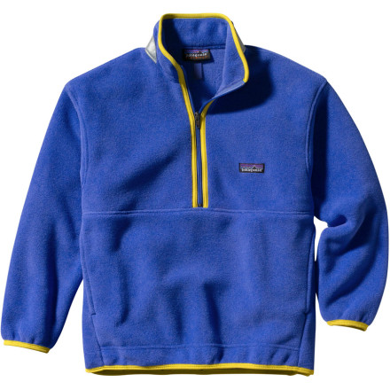 photo: Patagonia Kids' Synchilla Marsupial fleece top