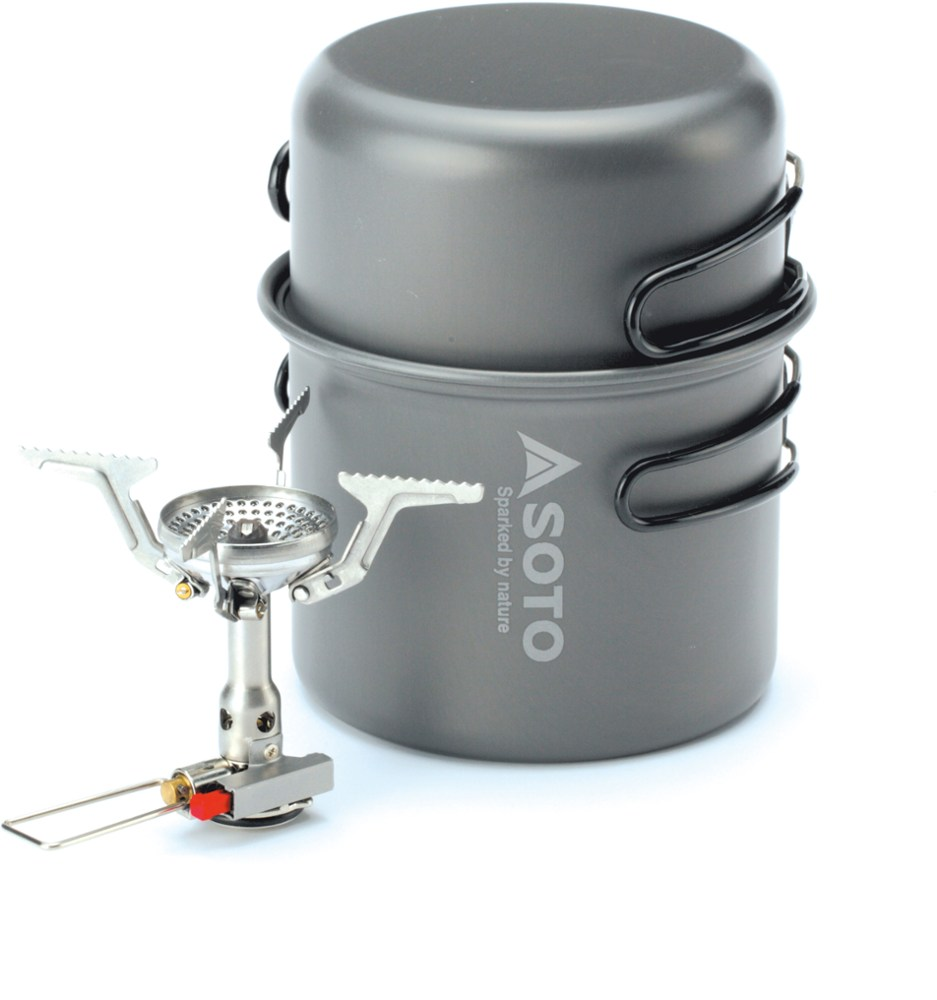 Soto Amicus with Igniter Cookset Combo