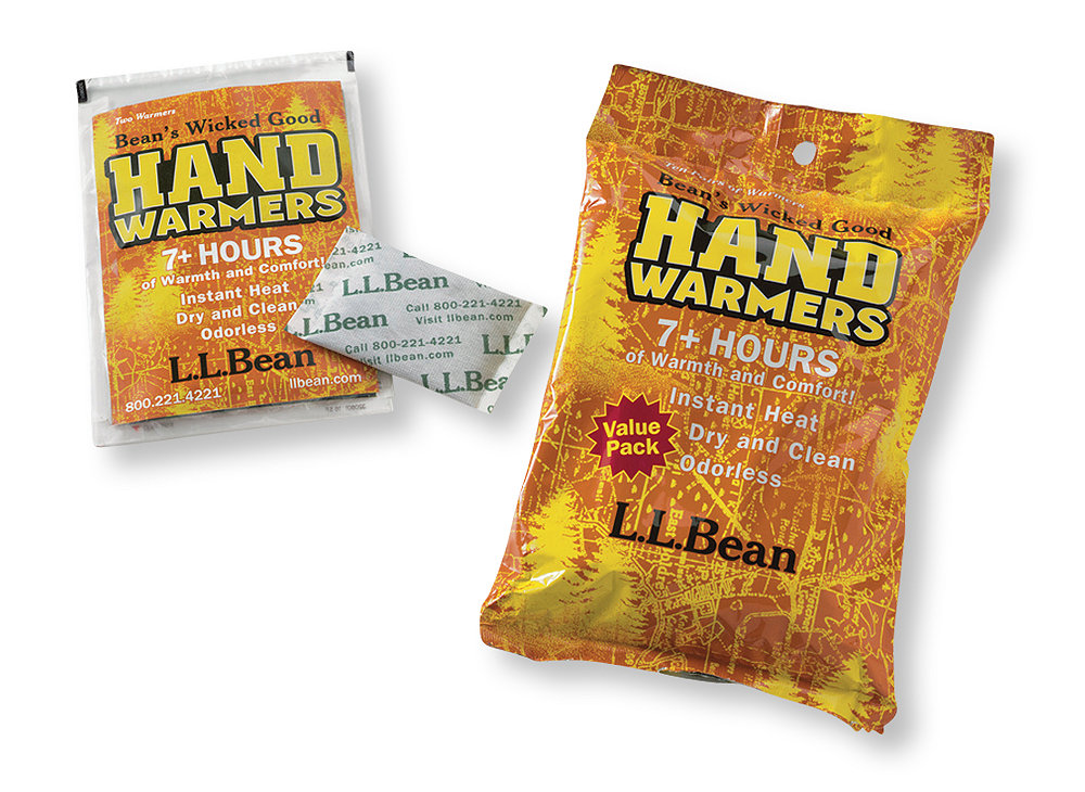photo: L.L.Bean Wicked Good Hand Warmers survival gear