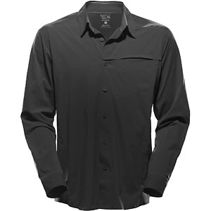 photo: Mountain Hardwear Ravine Supreme Long Sleeve Shirt hiking shirt