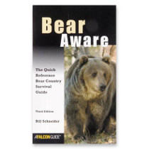 photo: Falcon Guides Bear Aware - The Quick Reference Bear Country Survival Guide first aid/safety/survival book