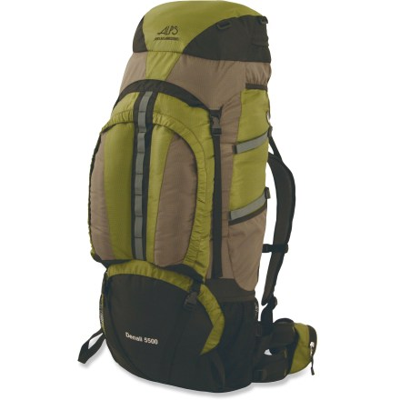 photo: ALPS Mountaineering Denali 5500 expedition pack (70l+)