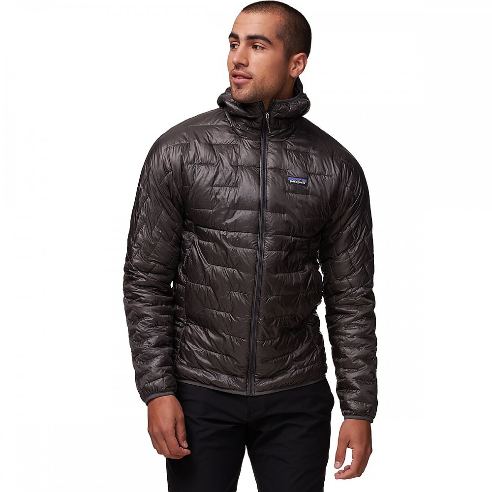 photo: Patagonia Micro Puff Hoody synthetic insulated jacket